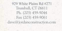 Jordan Construction Fairfield County Connecticut